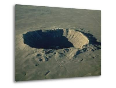 Meteor Crater, the Largest Known in the World, Arizona, USA-Ursula Gahwiler-Metal Print