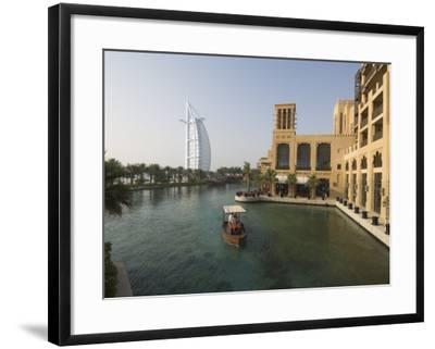 Madinat Jumeirah Hotel, Dubai, United Arab Emirates, Middle East-Amanda Hall-Framed Photographic Print