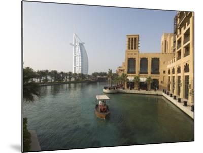 Madinat Jumeirah Hotel, Dubai, United Arab Emirates, Middle East-Amanda Hall-Mounted Photographic Print