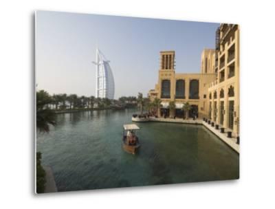 Madinat Jumeirah Hotel, Dubai, United Arab Emirates, Middle East-Amanda Hall-Metal Print
