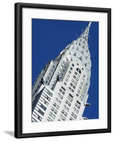 Chrysler Building, Manhattan, New York City, New York, USA-Amanda Hall-Framed Photographic Print