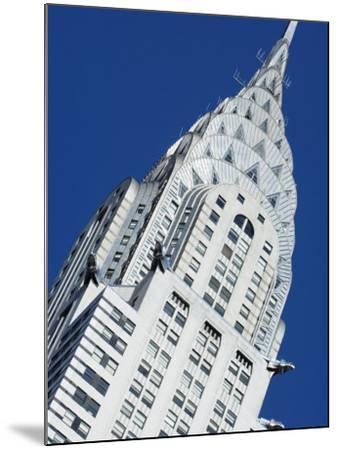 Chrysler Building, Manhattan, New York City, New York, USA-Amanda Hall-Mounted Photographic Print