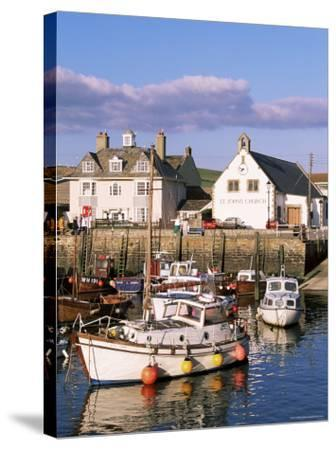 Query Weymouth Harbour, Weymouth, Dorset, England, United Kingdom-J Lightfoot-Stretched Canvas Print