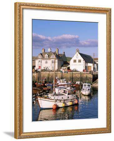Query Weymouth Harbour, Weymouth, Dorset, England, United Kingdom-J Lightfoot-Framed Photographic Print