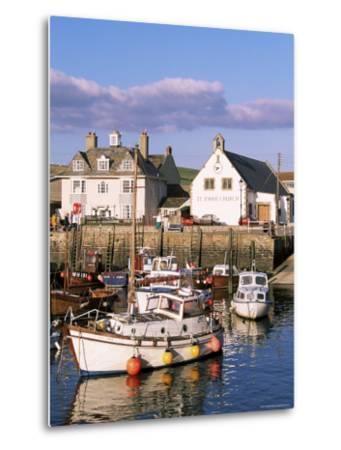 Query Weymouth Harbour, Weymouth, Dorset, England, United Kingdom-J Lightfoot-Metal Print