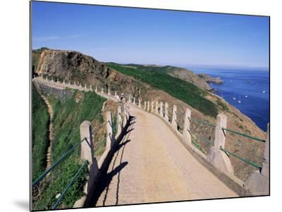 La Coupee and Dixcart Bay, Sark, Channel Islands, United Kingdom-J Lightfoot-Mounted Photographic Print