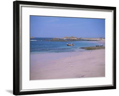 Cobo Bay, Guernsey, Channel Islands, United Kingdom-J Lightfoot-Framed Photographic Print