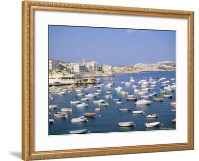 St. Paul's Bay, Island of Malta, Mediterranean-J Lightfoot-Framed Photographic Print