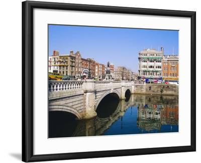 O'Connell Bridge, Dublin, Ireland/Eire-J Lightfoot-Framed Photographic Print