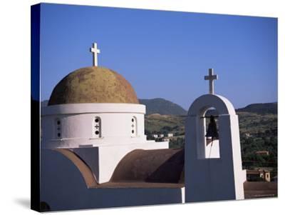 Church, Lesbos, Greece-J Lightfoot-Stretched Canvas Print
