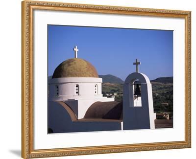 Church, Lesbos, Greece-J Lightfoot-Framed Photographic Print