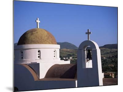 Church, Lesbos, Greece-J Lightfoot-Mounted Photographic Print