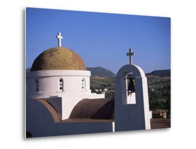 Church, Lesbos, Greece-J Lightfoot-Metal Print