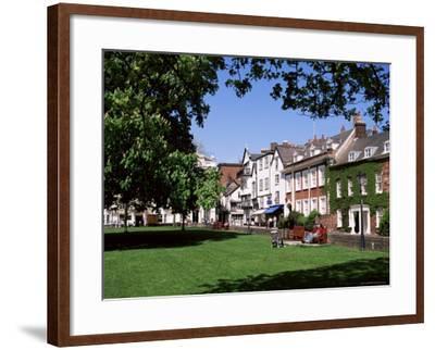 Cathedral Close, Exeter, Devon, England, United Kingdom-J Lightfoot-Framed Photographic Print