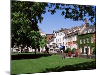 Cathedral Close, Exeter, Devon, England, United Kingdom-J Lightfoot-Mounted Photographic Print