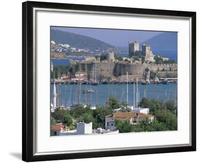 Bodrum and Bodrum Castle, Anatolia, Turkey-J Lightfoot-Framed Photographic Print