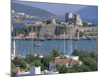 Bodrum and Bodrum Castle, Anatolia, Turkey-J Lightfoot-Mounted Photographic Print