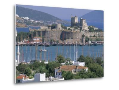 Bodrum and Bodrum Castle, Anatolia, Turkey-J Lightfoot-Metal Print