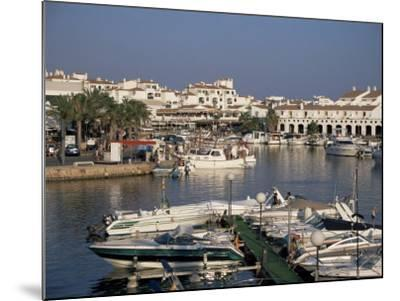Marina, Cala En'Bosch, Menorca, Balearic Islands, Spain, Mediterranean-J Lightfoot-Mounted Photographic Print