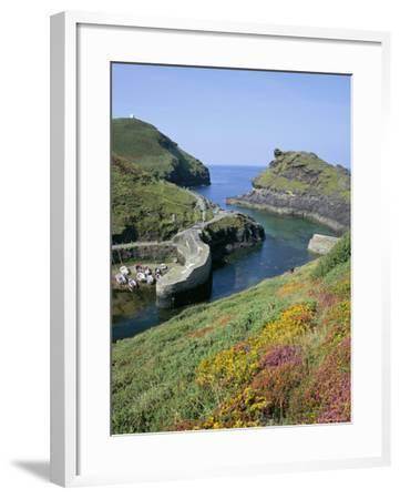 Boscastle Harbour, Boscastle, Cornwall, England, United Kingdom-Roy Rainford-Framed Photographic Print