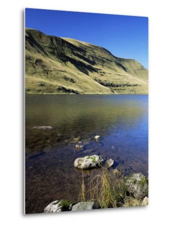 Black Mountains, Brecon Beacons National Park, Wales, United Kingdom-Roy Rainford-Metal Print