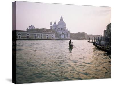 Santa Maria Della Salute, Grand Canal, Venice, Unesco World Heritage Site, Veneto, Italy-Roy Rainford-Stretched Canvas Print