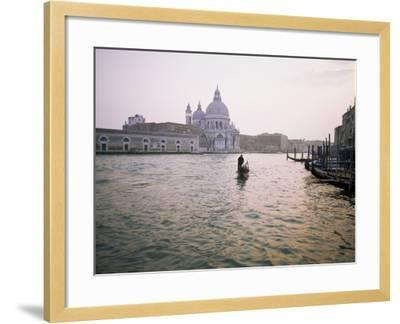 Santa Maria Della Salute, Grand Canal, Venice, Unesco World Heritage Site, Veneto, Italy-Roy Rainford-Framed Photographic Print