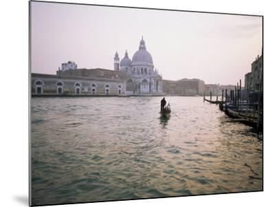 Santa Maria Della Salute, Grand Canal, Venice, Unesco World Heritage Site, Veneto, Italy-Roy Rainford-Mounted Photographic Print