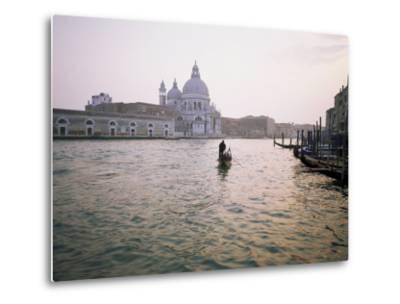 Santa Maria Della Salute, Grand Canal, Venice, Unesco World Heritage Site, Veneto, Italy-Roy Rainford-Metal Print