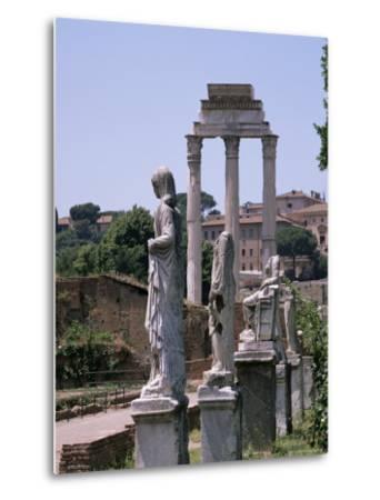 The Forum, Unesco World Heritage Site, Rome, Lazio, Italy-Roy Rainford-Metal Print