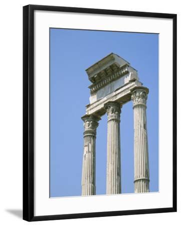 The Forum, Rome, Lazio, Italy-Roy Rainford-Framed Photographic Print