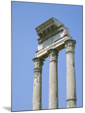 The Forum, Rome, Lazio, Italy-Roy Rainford-Mounted Photographic Print