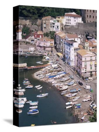 Marina Grande, Sorrento, Costiera Amalfitana, Unesco World Heritage Site-Roy Rainford-Stretched Canvas Print