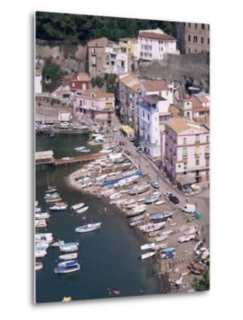 Marina Grande, Sorrento, Costiera Amalfitana, Unesco World Heritage Site-Roy Rainford-Metal Print