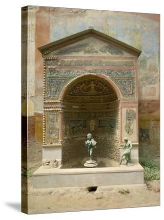 Pompeii, Unesco World Heritage Site, Campania, Italy-Roy Rainford-Stretched Canvas Print