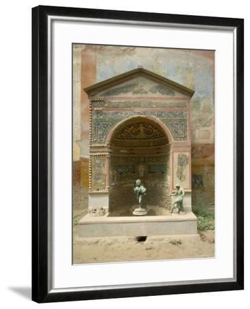 Pompeii, Unesco World Heritage Site, Campania, Italy-Roy Rainford-Framed Photographic Print