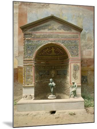 Pompeii, Unesco World Heritage Site, Campania, Italy-Roy Rainford-Mounted Photographic Print