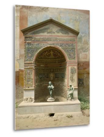Pompeii, Unesco World Heritage Site, Campania, Italy-Roy Rainford-Metal Print