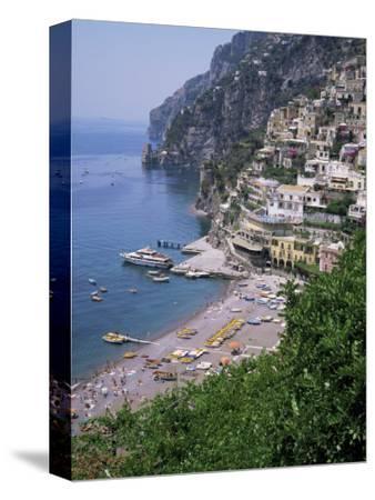 Positano, Costiera Amalfitana, Unesco World Heritage Site, Campania, Italy-Roy Rainford-Stretched Canvas Print