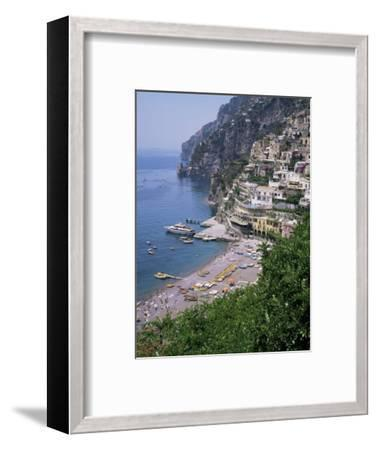 Positano, Costiera Amalfitana, Unesco World Heritage Site, Campania, Italy-Roy Rainford-Framed Photographic Print