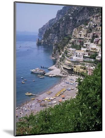 Positano, Costiera Amalfitana, Unesco World Heritage Site, Campania, Italy-Roy Rainford-Mounted Photographic Print