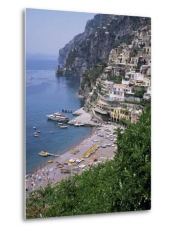 Positano, Costiera Amalfitana, Unesco World Heritage Site, Campania, Italy-Roy Rainford-Metal Print