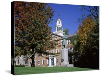 Exterior of Griffin Hall, Williamstown, Massachusetts, New England, USA-Roy Rainford-Stretched Canvas Print