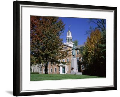 Exterior of Griffin Hall, Williamstown, Massachusetts, New England, USA-Roy Rainford-Framed Photographic Print