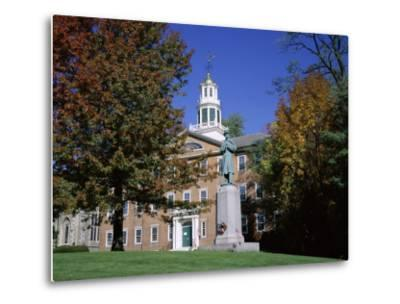 Exterior of Griffin Hall, Williamstown, Massachusetts, New England, USA-Roy Rainford-Metal Print