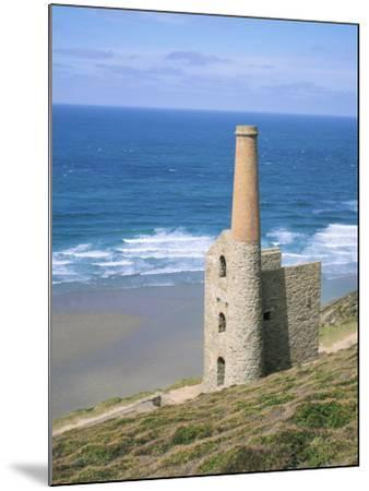 Wheal Coates Mine, St. Agnes, Cornwall, England, United Kingdom-Roy Rainford-Mounted Photographic Print
