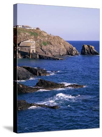 Lizard Point, Cornwall, England, United Kingdom-Roy Rainford-Stretched Canvas Print