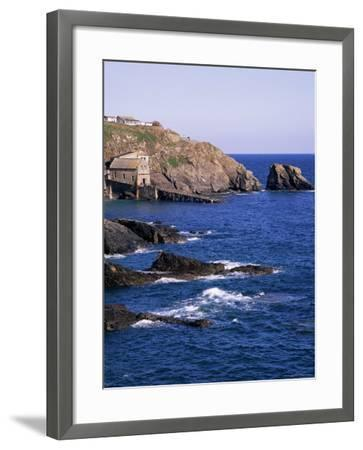 Lizard Point, Cornwall, England, United Kingdom-Roy Rainford-Framed Photographic Print
