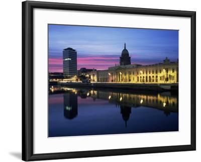 The Custom House, Dublin, Co. Dublin, Eire (Republic of Ireland)-Roy Rainford-Framed Photographic Print