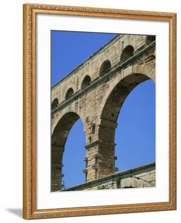 Pont Du Gard, Unesco World Heritage Site, Languedoc-Roussillon, France-Roy Rainford-Framed Photographic Print